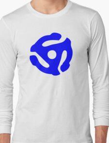 Blue 45 RPM Vinyl Record Holder T-Shirt