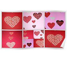 Valentine Sampler Poster