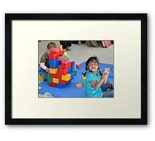 Blocks ... Framed Print