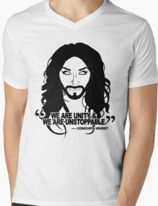 Conchita Wurst Mens V-Neck T-Shirt