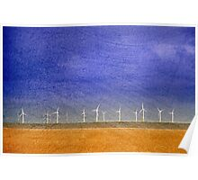 Scroby Sands Wind Farm, Norfolk Poster