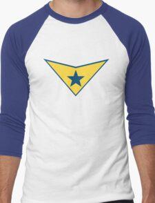 Booster Gold Logo Men's Baseball ¾ T-Shirt