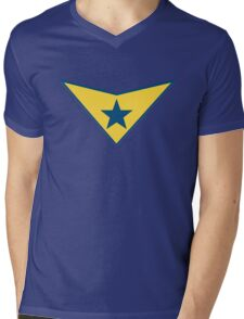 Booster Gold Logo Mens V-Neck T-Shirt