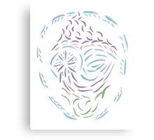 Comet Mandala Canvas Print
