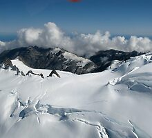 Helicopter Glacier landing... by SMBPhotography