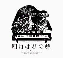 Shigatsu wa Kimi no Uso - Your lie in April Womens Fitted T-Shirt