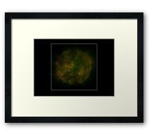 Septic Planet. Framed Print