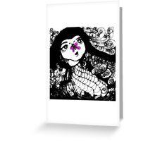 Viola Flutterby Greeting Card