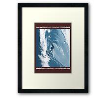 surf warrior Framed Print