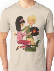 Kids Vinyl Record Love Unisex T-Shirt