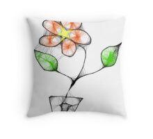 Scribbler art Throw Pillow
