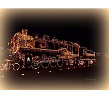 Golden Train Photographic Print
