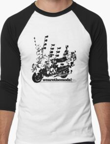 We Are The Mods Vespa Scooter Men's Baseball ¾ T-Shirt