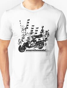 We Are The Mods Vespa Scooter T-Shirt
