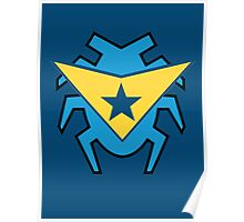 Blue Beetle and Booster Gold Poster