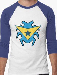 Blue Beetle and Booster Gold Men's Baseball ¾ T-Shirt