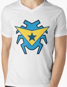 Blue Beetle and Booster Gold Mens V-Neck T-Shirt