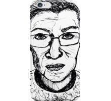 Ruth Bader Ginsburg iPhone Case/Skin