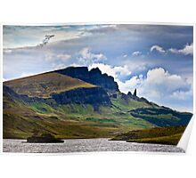 The Old Man of Storr - Isle of Skye. Scotland UK Poster