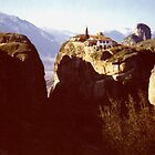 Agia Triada - The Holy Trinity Monastery, Meteora by Shiva77