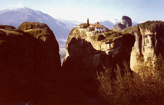 Agia Triada - The Holy Trinity Monastery, Meteora by Shiva77