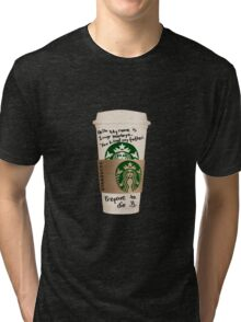 Inigo's Coffee Tri-blend T-Shirt