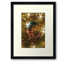 Santa Ornament Framed Print