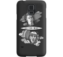 The Doctor and Donna Noble (with DW Logo) Samsung Galaxy Case/Skin