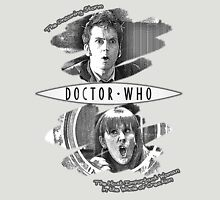 The Doctor and Donna Noble (with DW Logo) Unisex T-Shirt