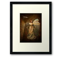 """""""Looking for her Knight"""" Framed Print"""