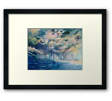 The Storm-Gold Coast Framed Print