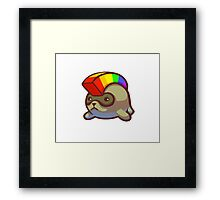 Hamster Hawk Framed Print