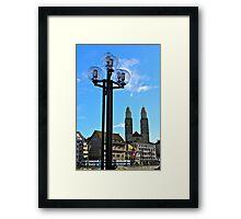 Grossmuenster, Zurich Framed Print