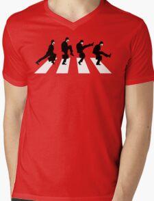 Silly Road Mens V-Neck T-Shirt