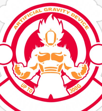 Gravity Chamber Sticker