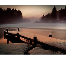 A Misty Glow. Photographic Print
