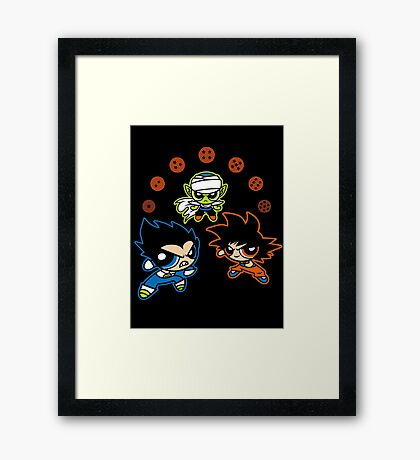 DragonPuff Z Framed Print