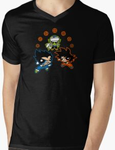 DragonPuff Z Mens V-Neck T-Shirt