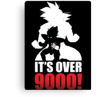 Over 9000 Canvas Print