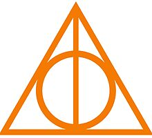 Deathly Hallows orange by rachelshade