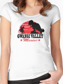 Gwangi Valley Women's Fitted Scoop T-Shirt
