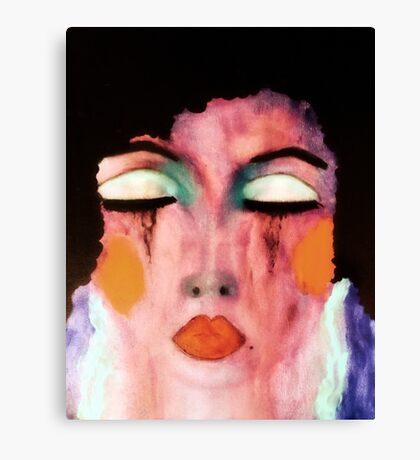 She Was Too Fabulous To Care For Long  Canvas Print
