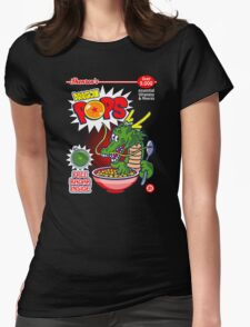 Dragon Pops Womens Fitted T-Shirt