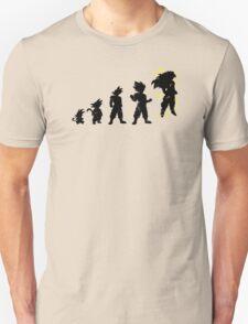 Monkey Evoltuion Unisex T-Shirt