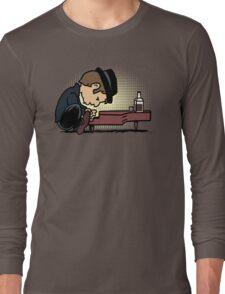 Drunk Piano Long Sleeve T-Shirt
