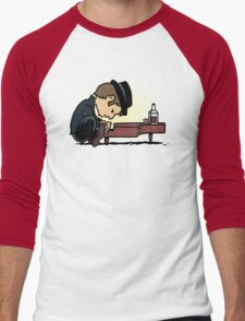 Drunk Piano Men's Baseball ¾ T-Shirt