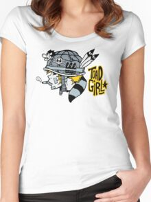Toad Girl Women's Fitted Scoop T-Shirt