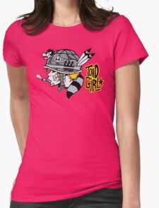 Toad Girl Womens Fitted T-Shirt
