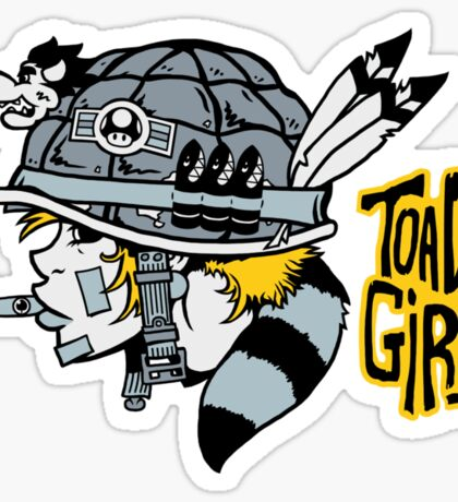 Toad Girl Sticker