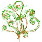 Scribble Tree by Jessica Manelis